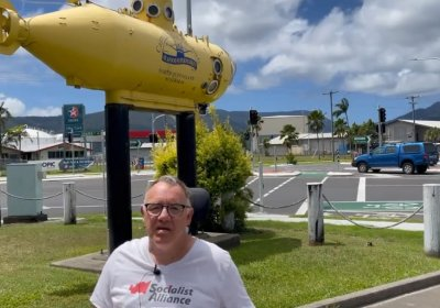 Rob Pyne speaks out against nuclear submarines