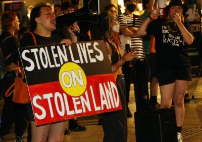 Stolen lives on stolen land