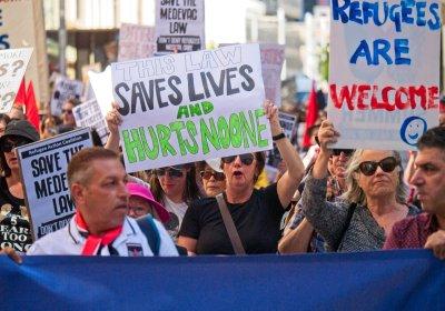 Defend Medevac protest in Sydney on November 9.
