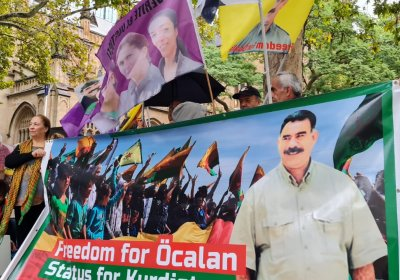 Sydney protest over wellbeing of Ocalan