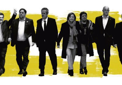 The nine Catalan leaders who have been in preventive detention for up to 15 months