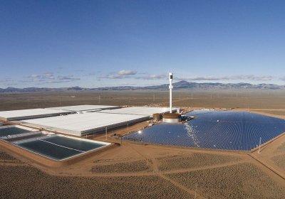 Port Augusta solar power plant in South Australia