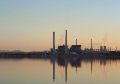 Liddell power station.