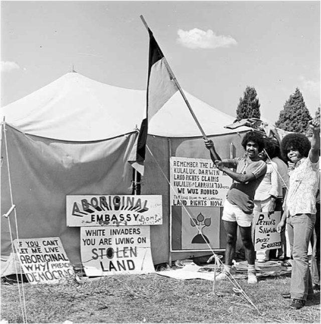 Aboriginal activists speak on Tent Embassy 40-year milestone & Aboriginal activists speak on Tent Embassy 40-year milestone ...