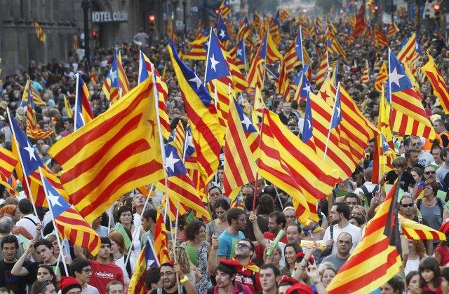 spain independence farewell spain catalan independence march sends huge shockwave