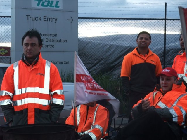 Striking Coles workers reject offer, stay on picket line | Green