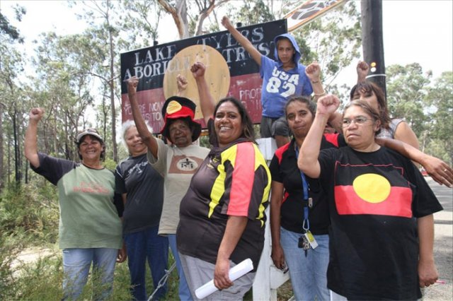 Lake Tyers protests government imposition | Green Left Weekly