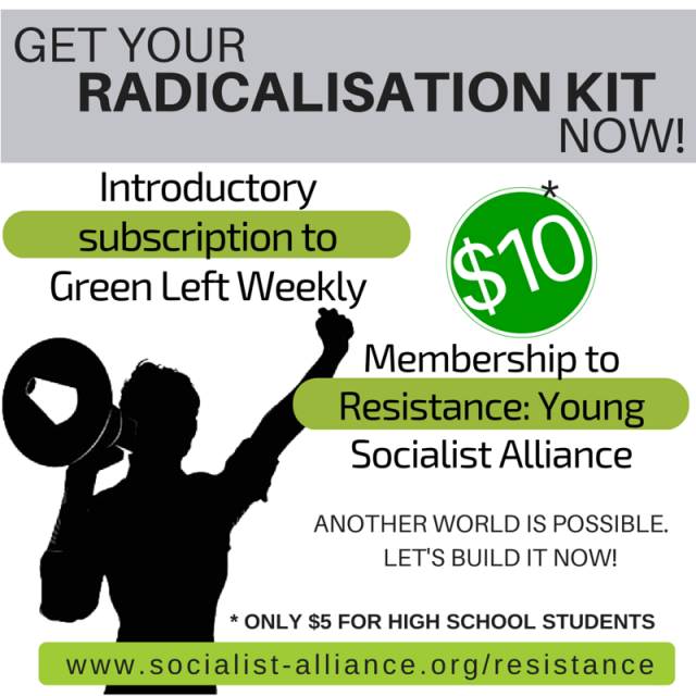 Resistance offers radicalisation kit to young activists