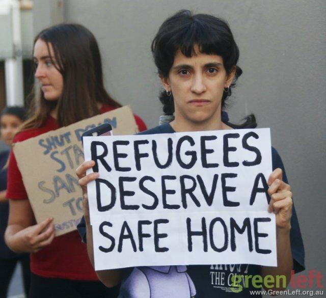 Refugees deserve a safe home