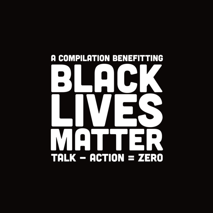 VARIOUS ARTISTS - TALK - ACTION = ZERO album artwork