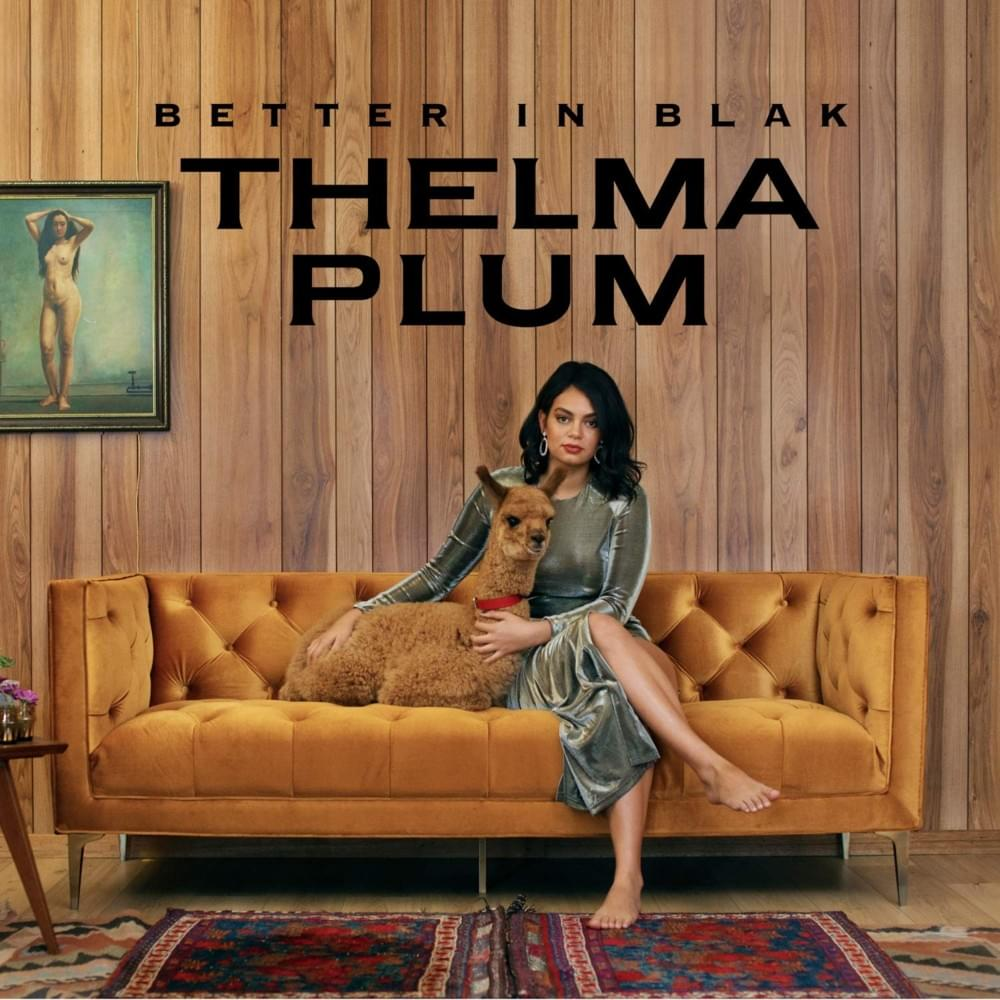 THELMA PLUM - BETTER IN BLAK album artwork