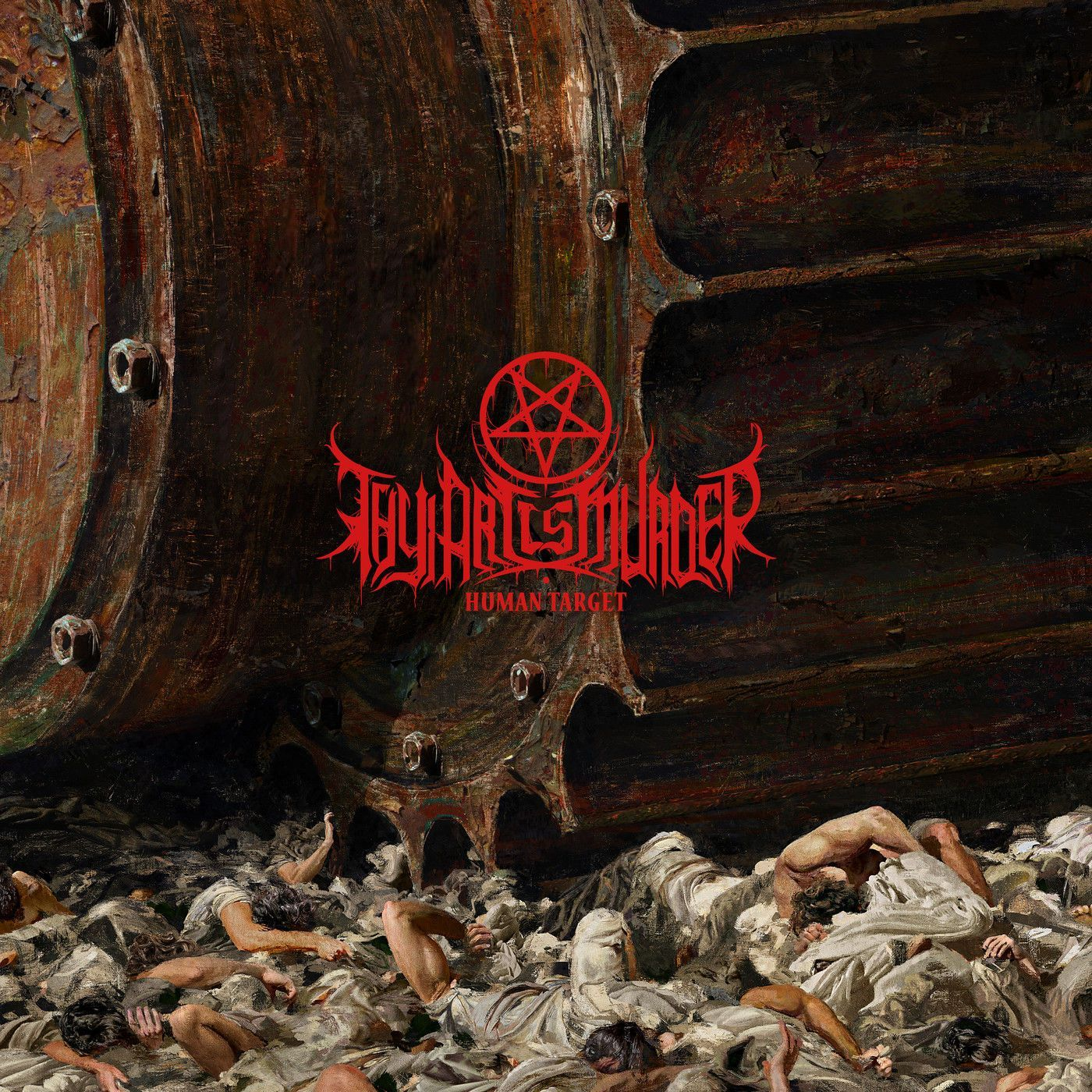 THY ART IS MURDER - HUMAN TARGET album artwork