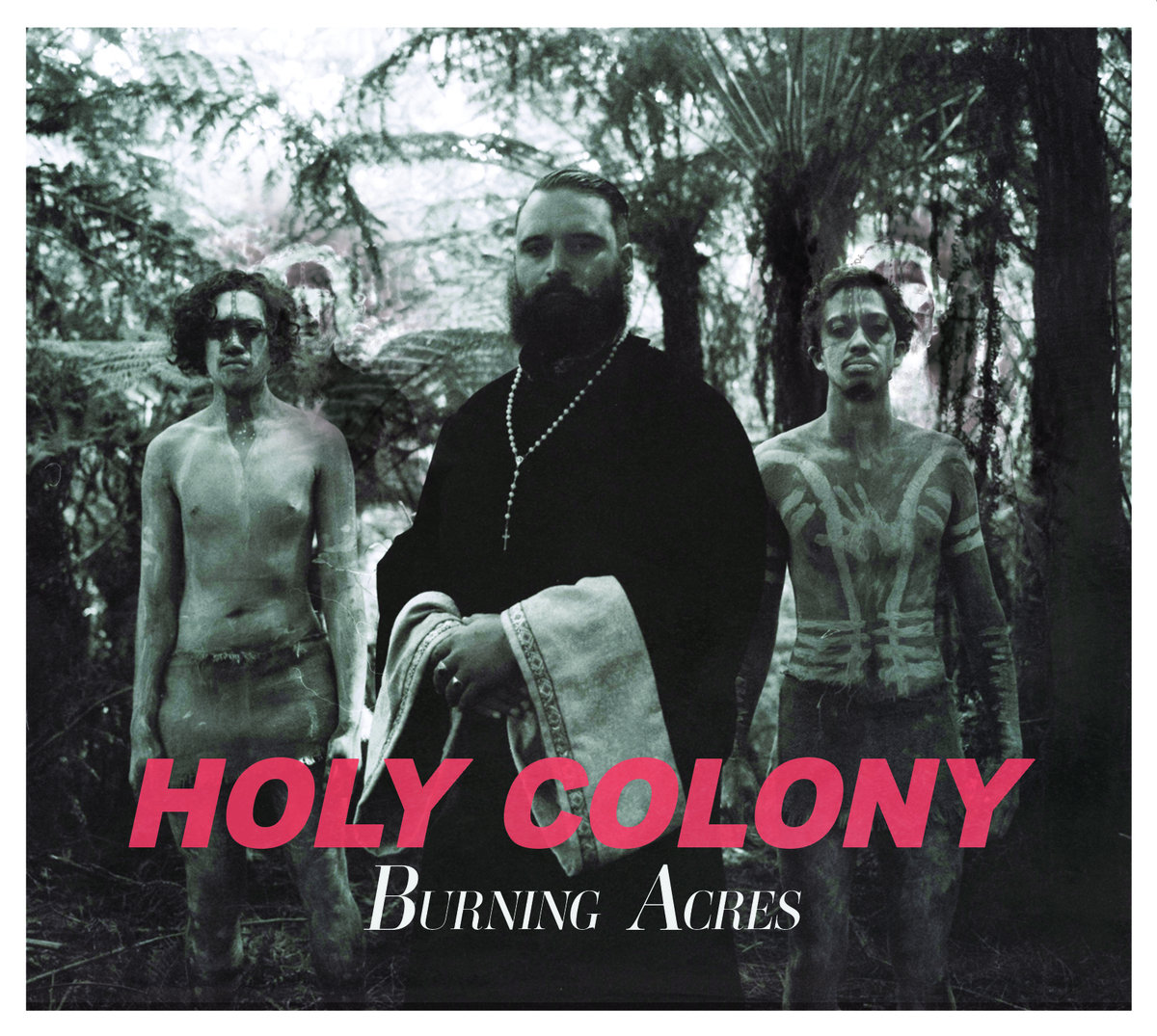TROY KINGI - HOLY COLONY BURNING ACRES album artwork