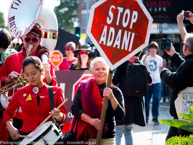 The fight-back against Adani and Aurizon steps up