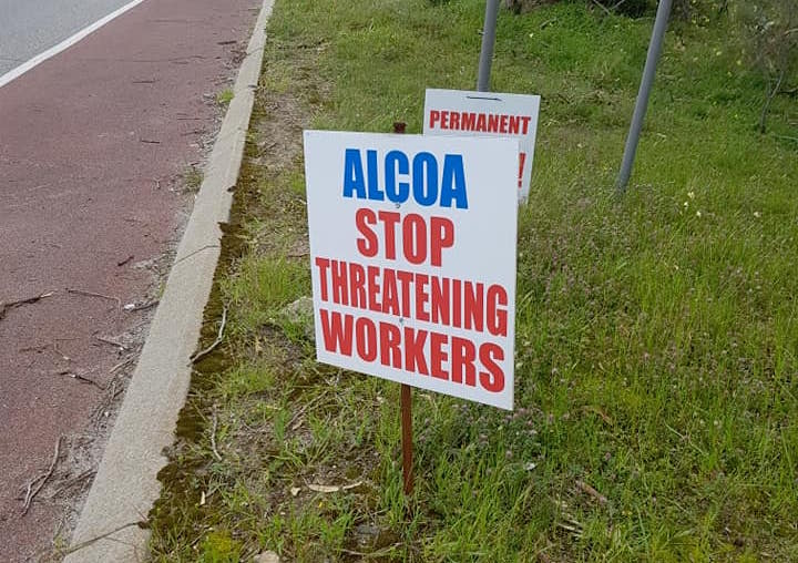 Alcoa workers reject new offer as BP seeks to terminate agreement