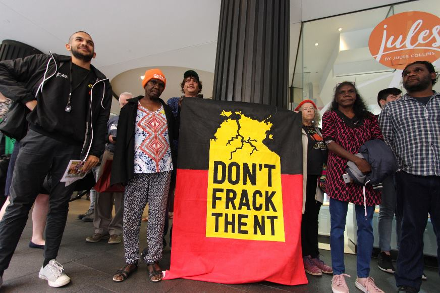 NT Traditional Owners tell Origin Energy to frack off