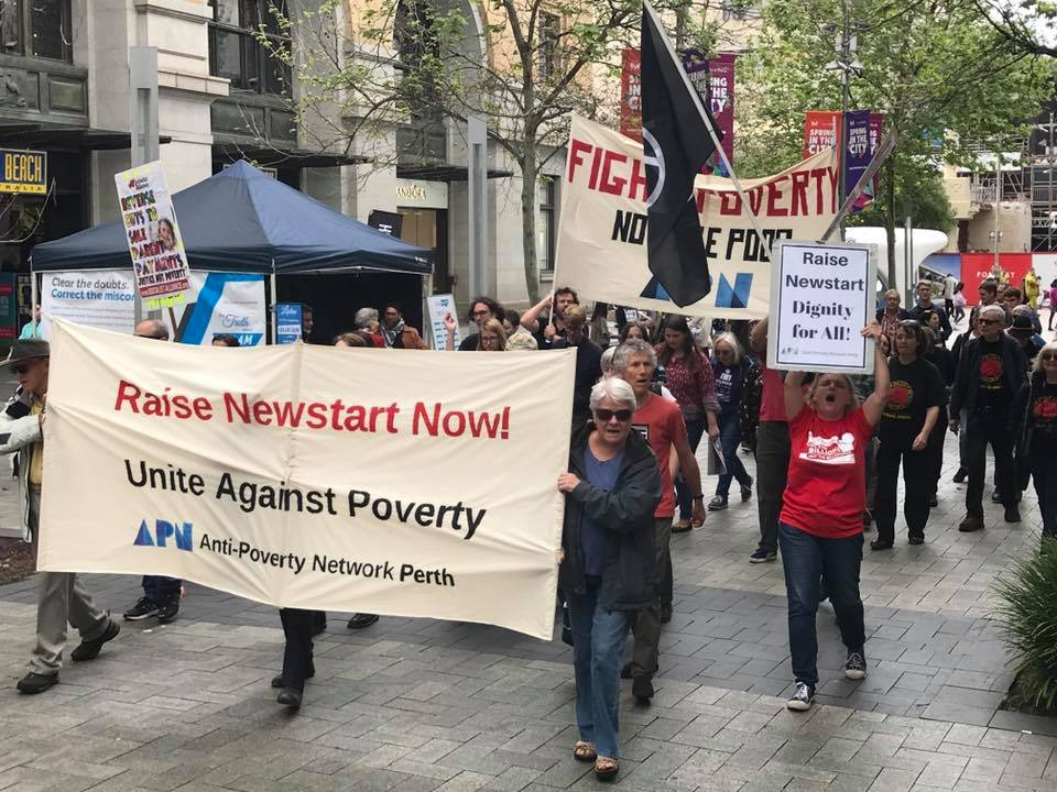 Anti-poverty campaigners demand Newstart rise