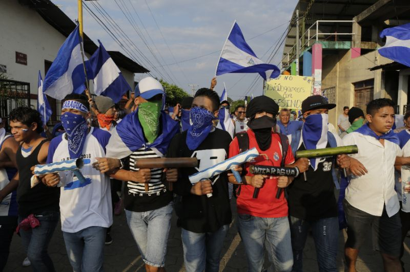 Escalating violence in Nicaragua