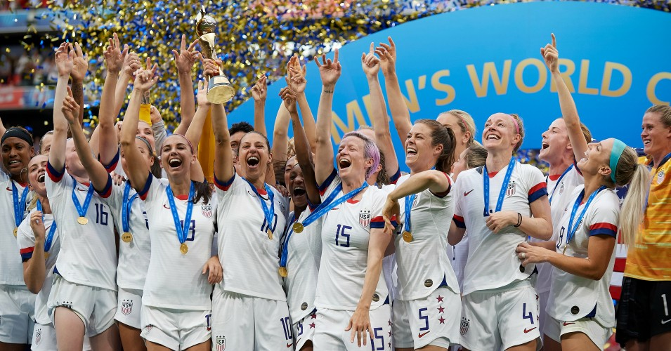 With chants of 'Equal pay' and 'Fuck Trump', Women's World Cup becomes lightning rod for resistance
