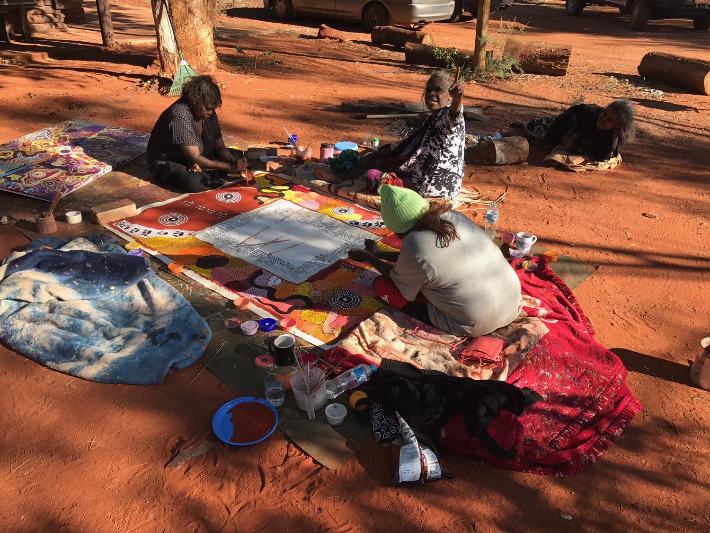 Indigenous artists work to keep Uluru Statement alive