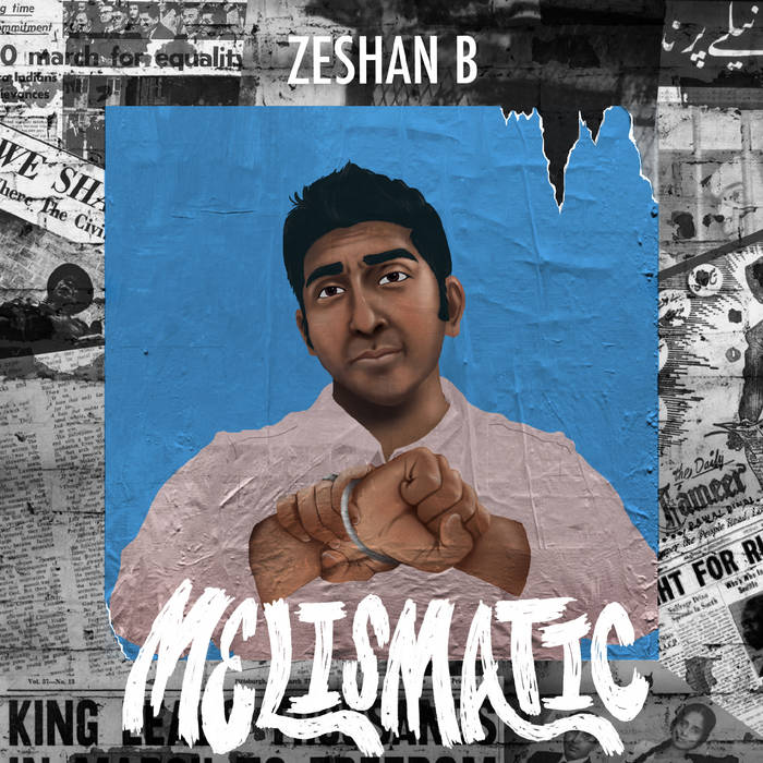ZESHAN B - MELISMATIC album artwork